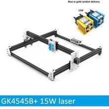 15W Wood Laser Carving Machine Cutter 45*45cm Engraver 5500MW Wood Router DIY Mini CNC Printer PWM,Benbox GRBL EleksMaker
