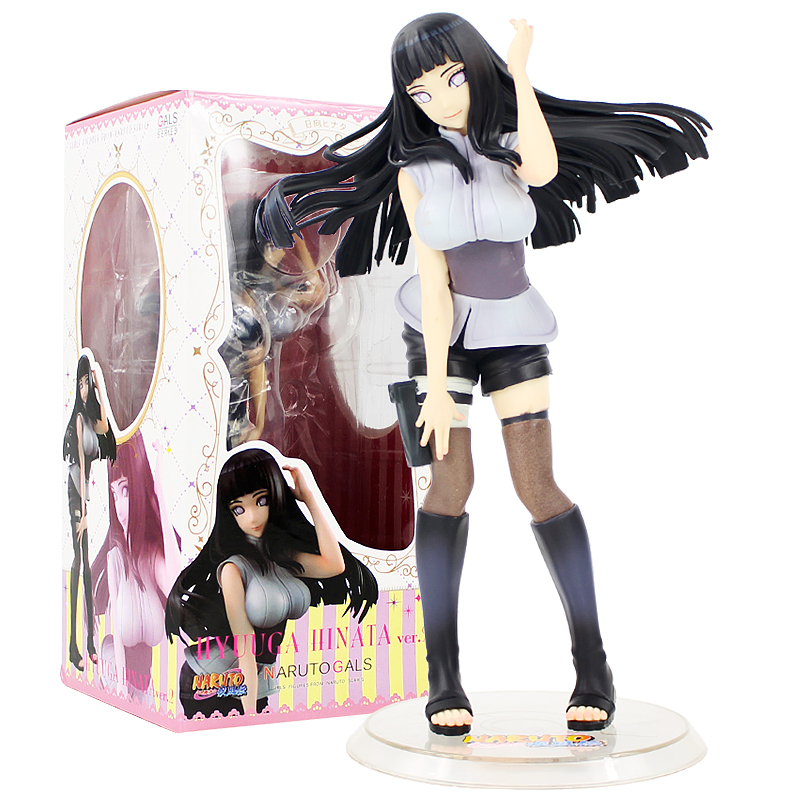 """Naruto Shippuden Naruto Gals Hinata Hyuga Version 2 PVC Figure Toy Model 8/"""""""