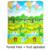 Bebé Gateando Mat 180x150 cm Doble-Sitio Subir Pad Carta de Frutas Niños Juegan Estera Del Juego de Niños juguetes de Regalo FCI #