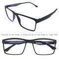 Flexibled ULTEM hombres Gafas de Miopía Óptica Marco de Anteojos Recetados Gafas Rx Pac-18