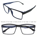ULTEM Men's Flexibled Myopia Glasses Optical Prescription Eyeglasses Frame Eyewear Rx Pac-18