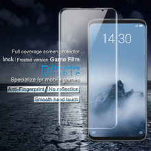 Imak Anti-fingerprint Frosted Hydrogel Film for Meizu 16th screen protector Full Cover 2pcs/Package Matte Front Plus