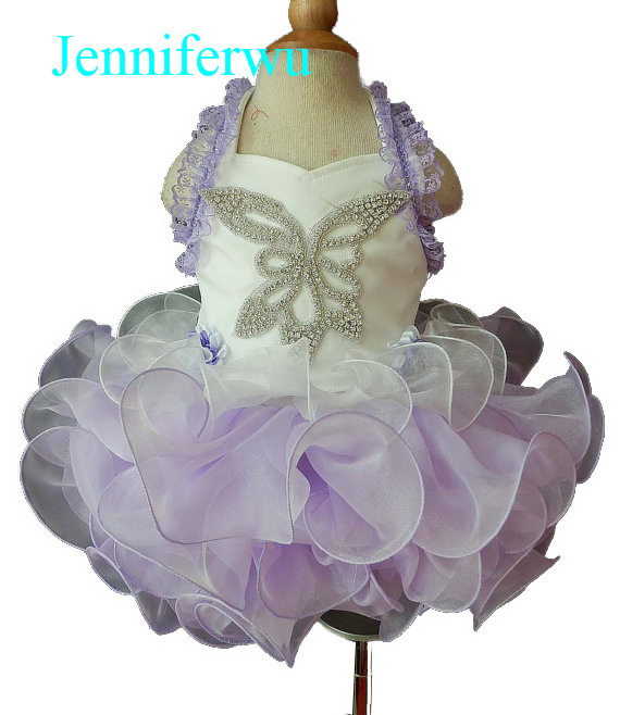 hand beaded little girl pageant dress 1T-6T G028-1 интеркулер kang wild 1 6t 1 6t 53039700174