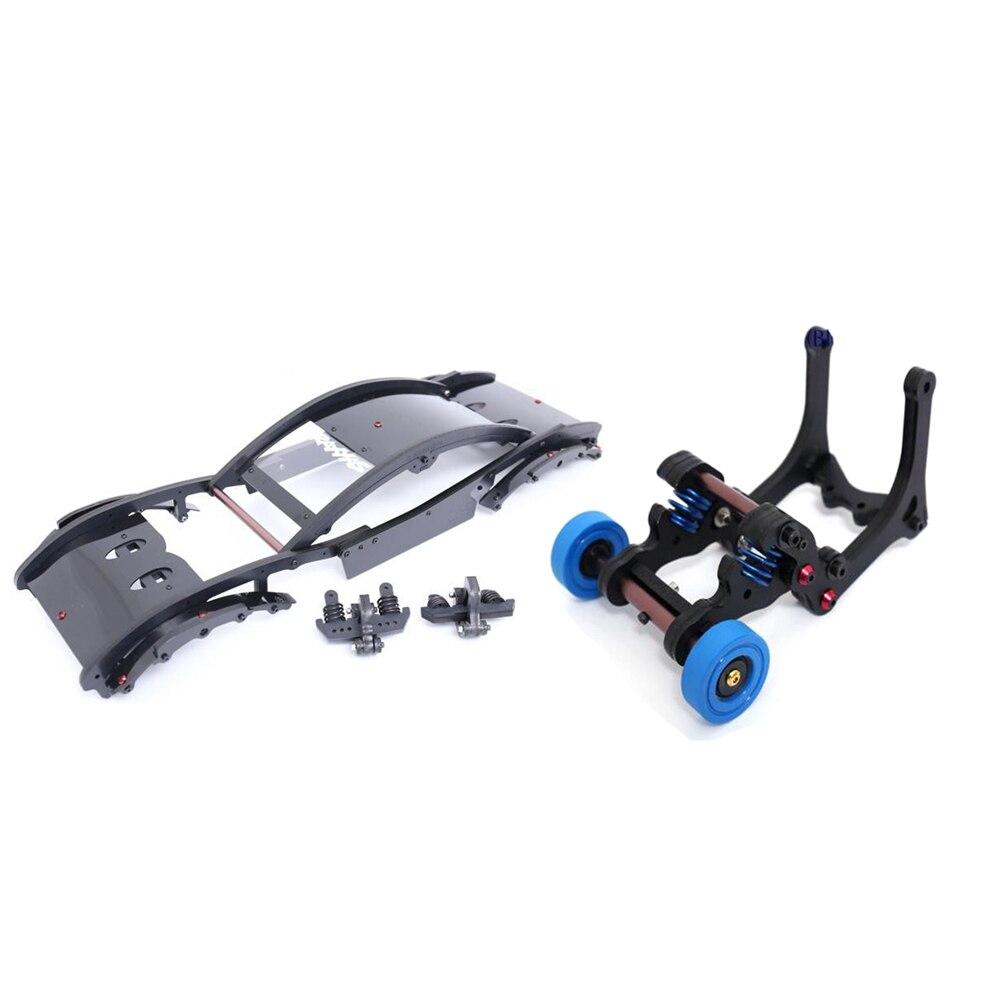 RC Car Roll Cage Spring Wheelie Bar Kit For TRAXXAS X MAXX XMAXX 1 5 RC