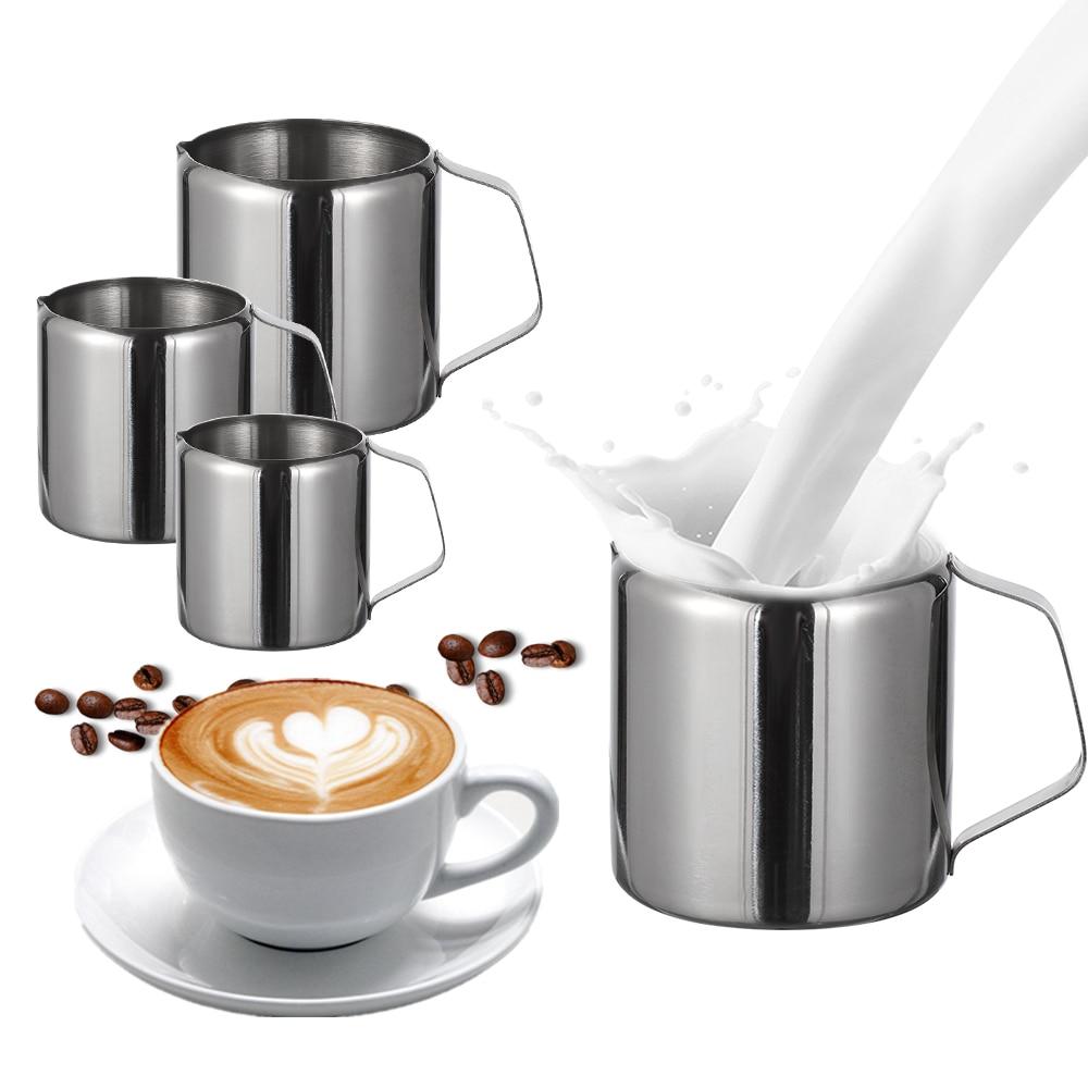 Durable Stainless Steel Milk Frothing Jug Coffee Cream