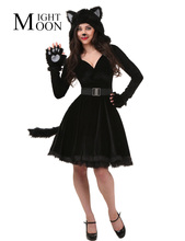 Black cat dress up