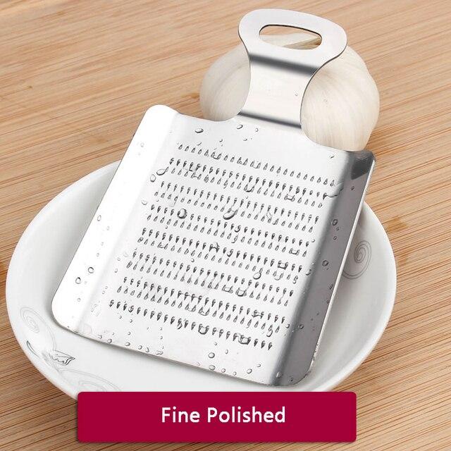1 pièces gingembre ail Wasabi râpe concasseur ail presse dispositif hachoir Cutter Garlics éplucheur cuisine outils acier inoxydable 4