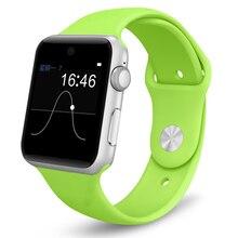 Bluetooth Smart Watch 2.5D ARC HD Screen Unterstützung Sim-karte SmartWatch Magie Knopf Sport Uhr Für IOS Android System Armbanduhr