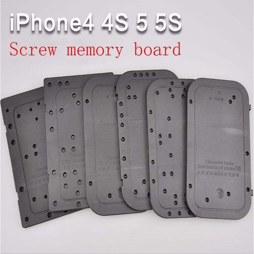 iphone5S Przykręcana płyta pamięci Tablica pozycji Zdemontować płytkę pozycjonującą dystrybucję narzędzia serwisowego dla iPhone'a
