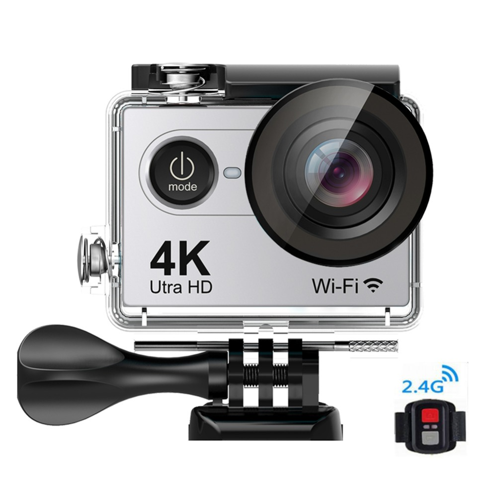 Time Lapse Pro 4k Action Camera Waterproof Sports Video Recorder H9pro 2.0 HD Mini Cam WIFI Sport Cameras With Remote Control hot ultra hd 4k camera action camera waterproof 16mp wifi extreme sports cam mini sport dv with remote control 3132