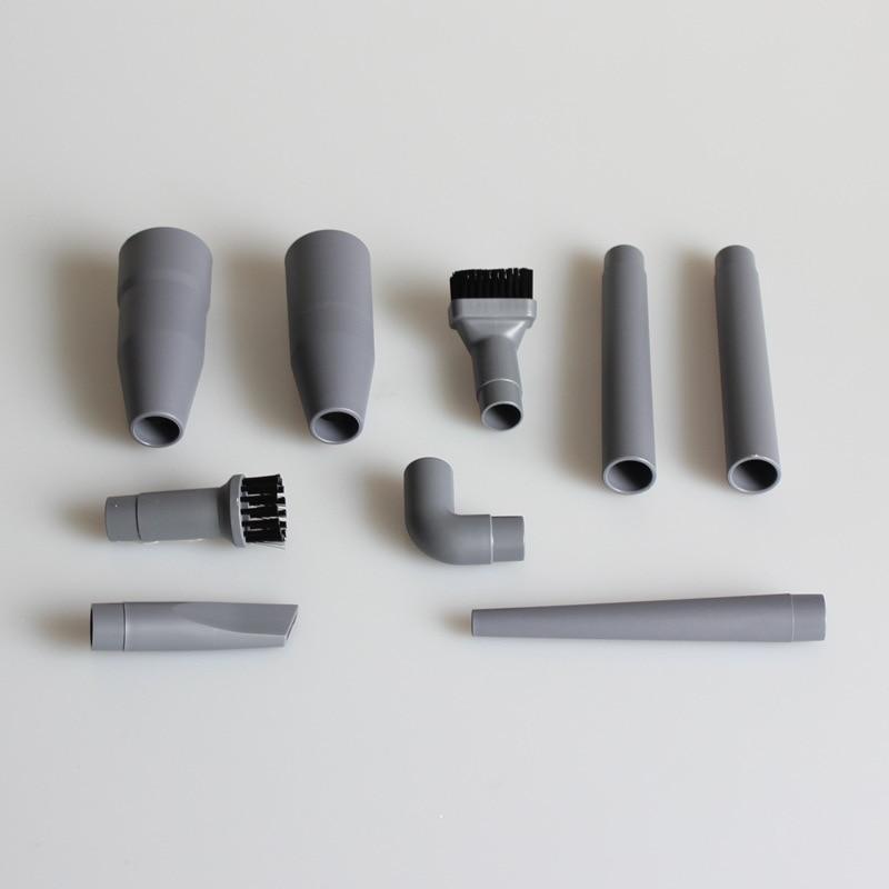 Wholesale price 9Pcs/Set Universal Vacuum Cleaner Accessories Multifunctional Corner Brush Set Plastic Nozzle цена