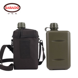 Image 2 - Outdoor capacità 2L Escursione di Campeggio Arrampicata resistente Al Calore ambiente friendly plastificazione di irrigazione può US mensa bottiglia di