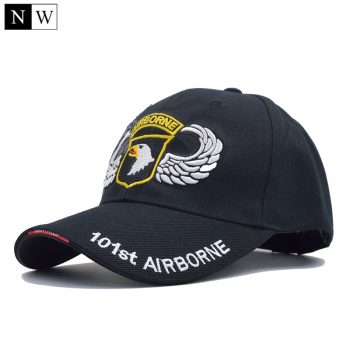 [northwood] high quality 101st airborne division baseball cap men us army cap dad cap air forec sport tactical cap bone snapback