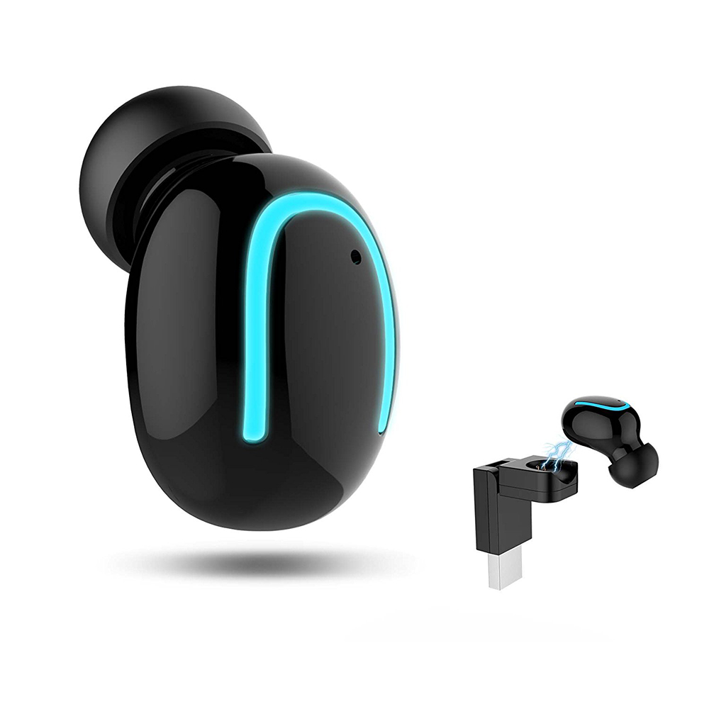 Mini Wireless Earbud Music Headset Smallest Invisible Bluetooth Earphone Wireless Earbuds Blutooth Earphone for Sport with USB
