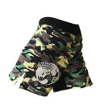 mma shorts boxing pants boxe sanda sport short mma camo muay thai kickboxing shorts fight men wear mma grappling trunks(China)