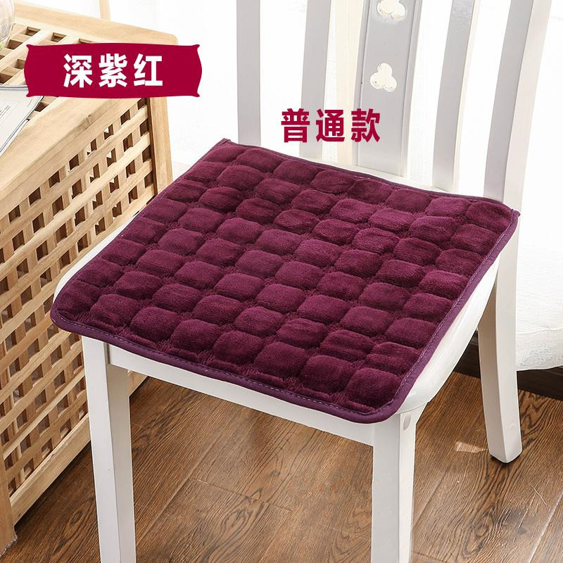 Flannel Fabric Dining Chair Sofa Seat Cushion Decorative