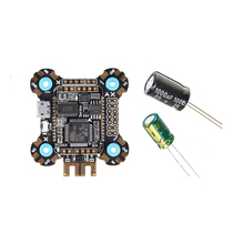 F722 Betaflight Flight Controller 2 6S OSD 5V/2A BEC Current with 25V/1000uF Capacitor for RC Racer Drone FPV Quadcopter