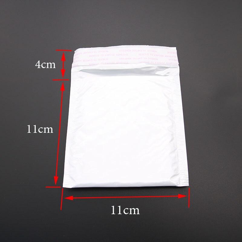 10 шт./ белый пузырь почтовый конверт