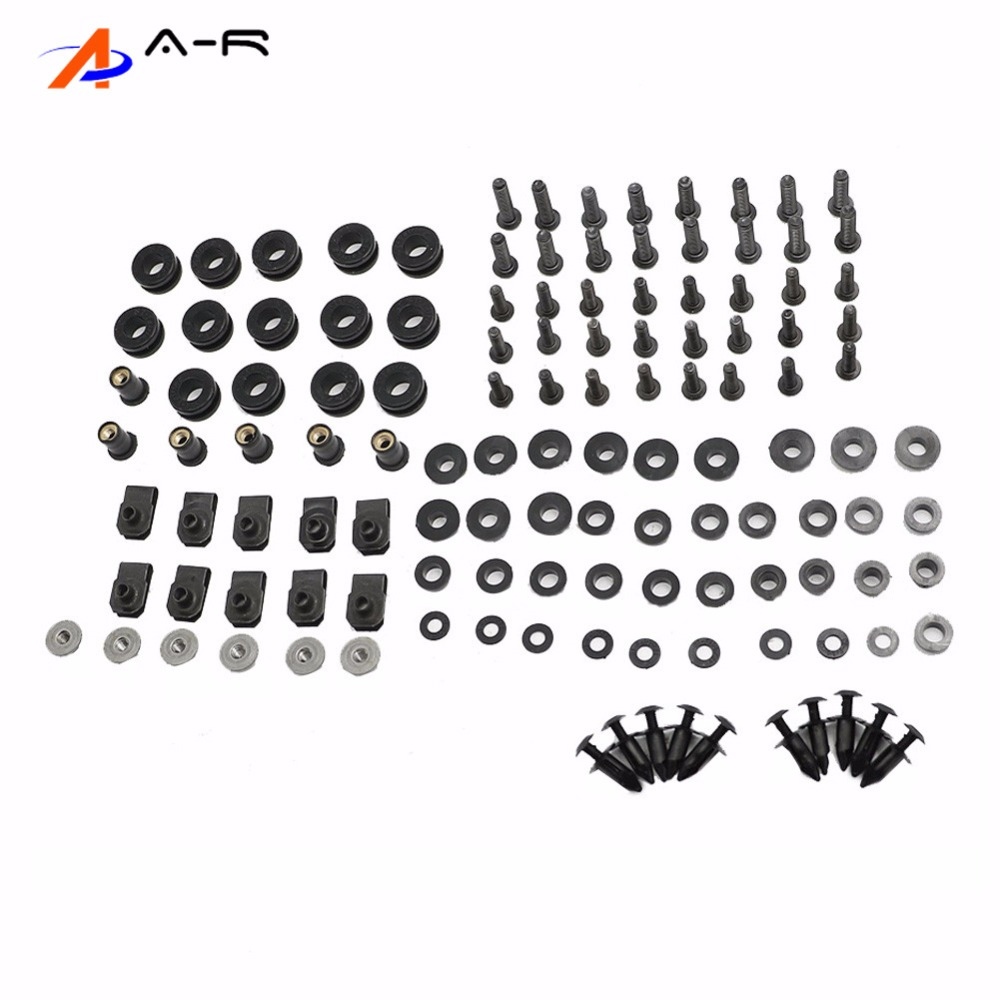 Body Fairing Bolts Nuts Fastener Clips Screws Washer Kit For <font><b>Suzuki</b></font> GSXR1000 K2 2000 2001 <font><b>2002</b></font> GSX-R1000 00-02 <font><b>GSXR</b></font> GSX-R <font><b>1000</b></font> image