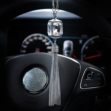 Подвеска для автомобиля, украшение из кристаллов, подвеска, украшения, Модное Автомобильное зеркало заднего вида, подвесное украшение, автомобильные аксессуары, подарок