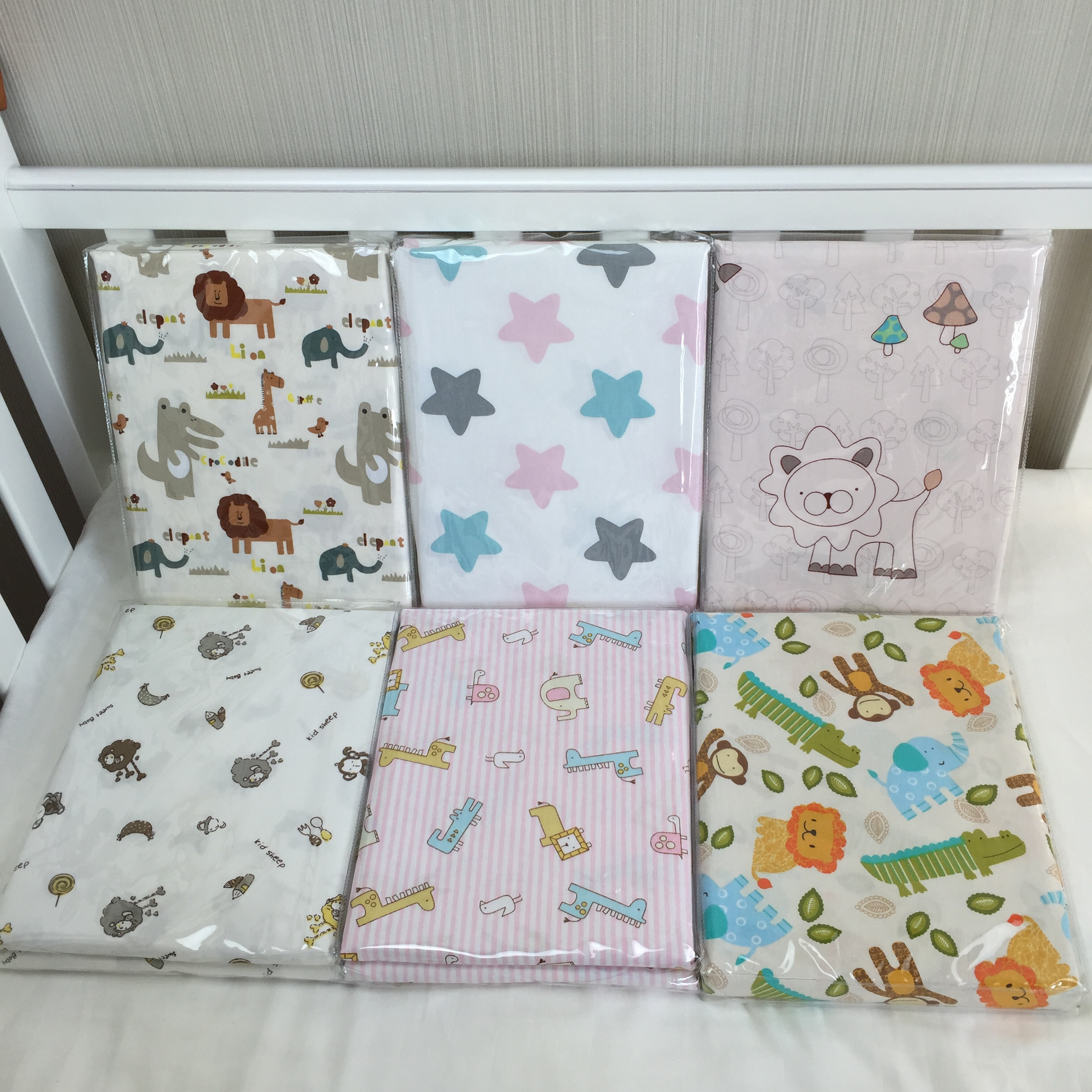 Bed sheet pattern - Baby Sheets Bed Newborn Cotton Cartoon Pattern Natural Printing Bed Sheets Children Favorite Comfort Crib Sheets Bedding In Sheets From Mother Kids On