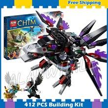 412 pcs CHI Raider Corvo Mini Templo de Razar 10060 Montar Blocos de Construção Modelo de Rizzo Ewar Os Presentes Dos Meninos define Compatível com Lego