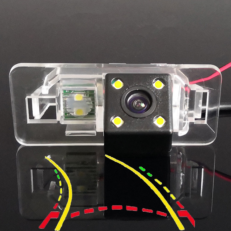 170D Intelligent Dynamic Trajectory Tracks Car Rear View Camera For BMW X1 X3 X5 X6 M3 E46 E53 E70 E71 E82 E83 E84 E90 E91 E92