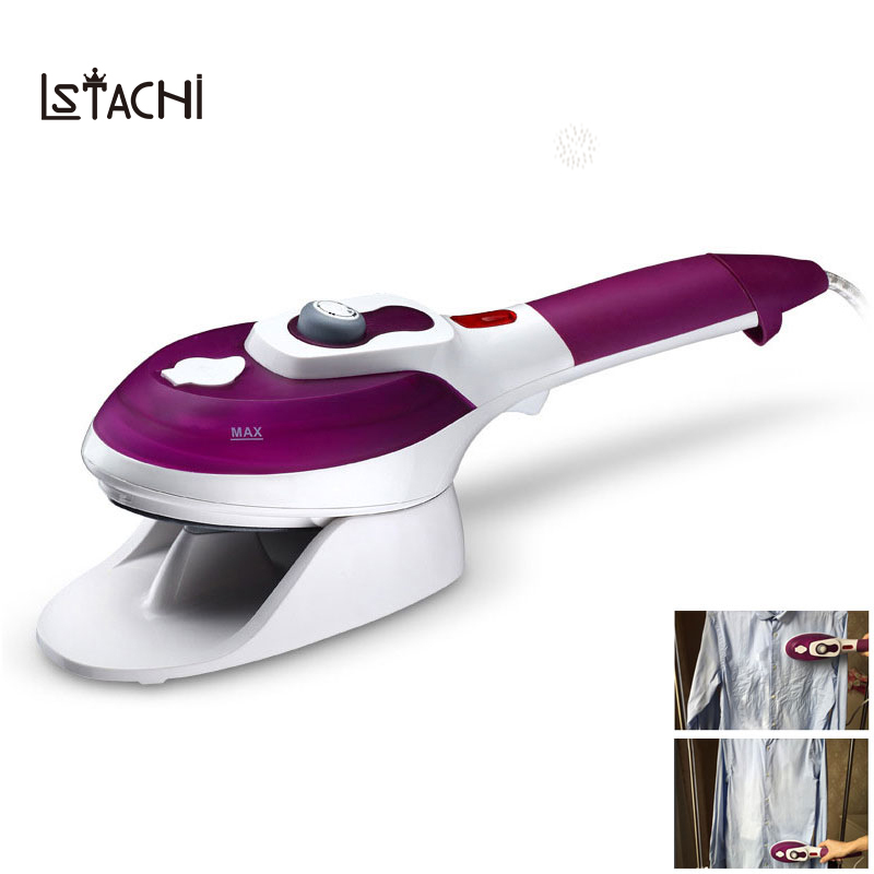 LSTACHi Household Appliances Vertical Steamer Garment Steamers with Steam Irons Brushes Iron Ironing Clothes for Home 110V 220V цена 2017