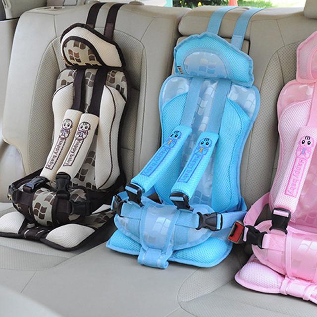 Novo 1-5 Anos de Idade Do Bebê Portátil Assento de Segurança Do Carro Crianças Carro Cadeiras para Crianças Crianças Carro assento 25 kg Carro Assento Capa Harness