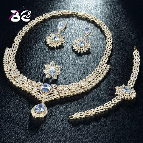 Женский комплект свадебных украшений be ювелирных в виде капли
