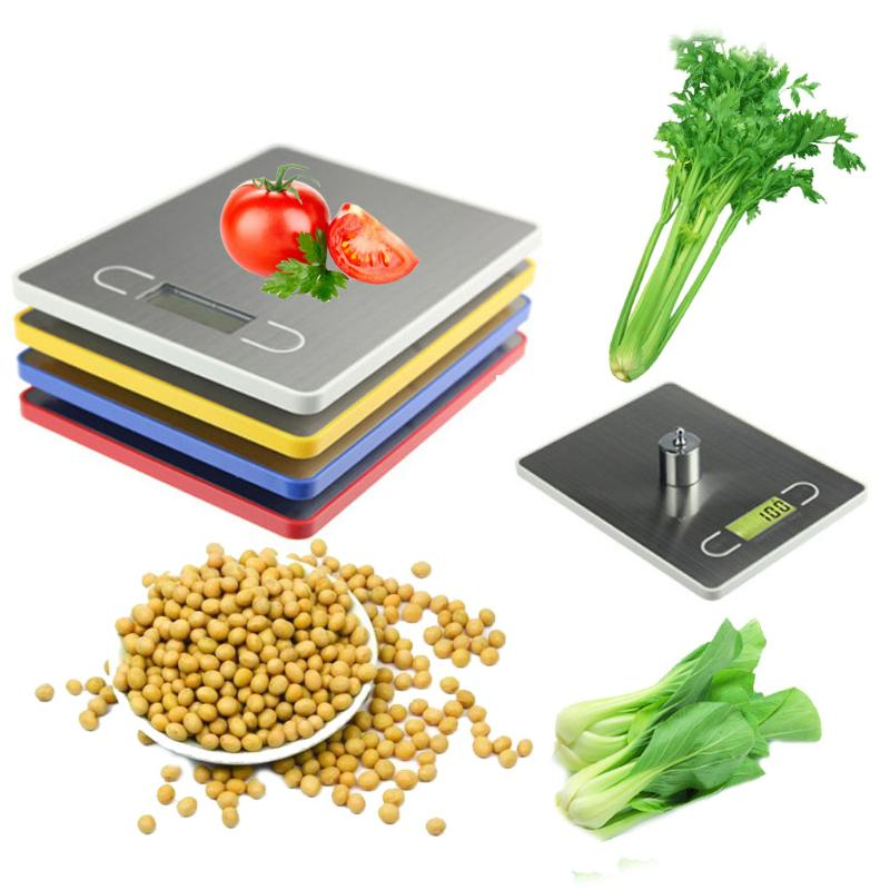 Practical 3 Units 5KG/1g LCD Display Digital Food Scale Weight Tool
