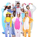 2016 Novo Ponto Unicórnio Pijamas de Inverno Para As Mulheres/Homens/Casal Homewear Loungewear Inverno Quente Flanela Adulto Dormir Animais pijama