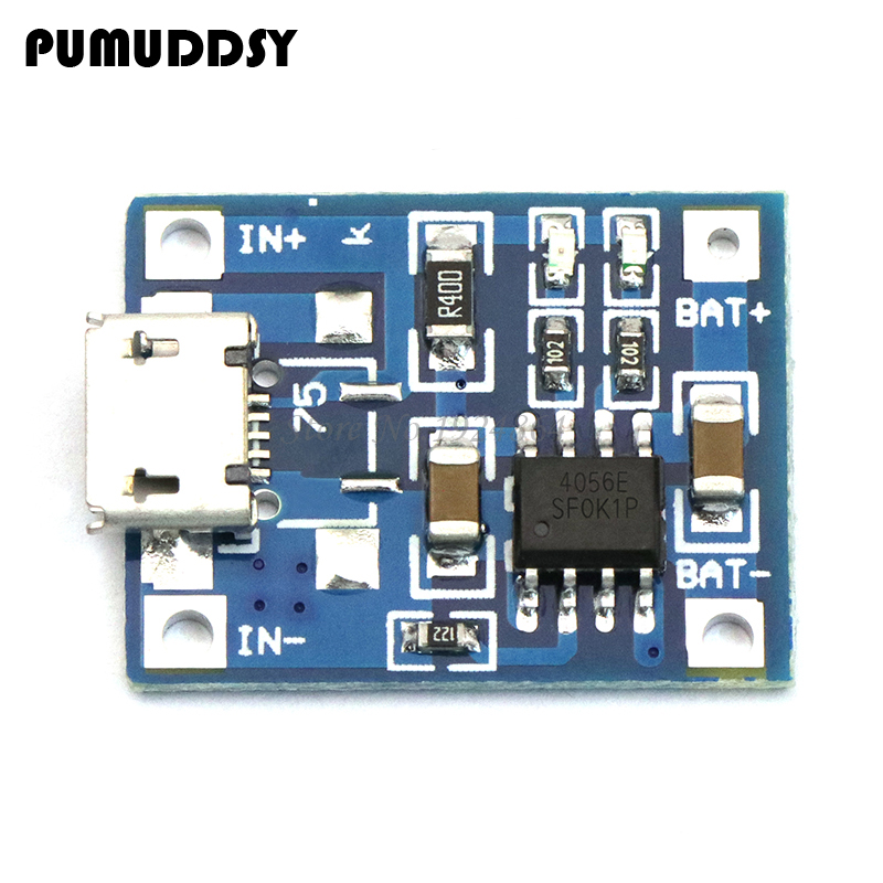 5pcs TP4056 1A Lipo Battery Charging Board Charger Module Lithium Battery DIY Port Mike USB 18650 New