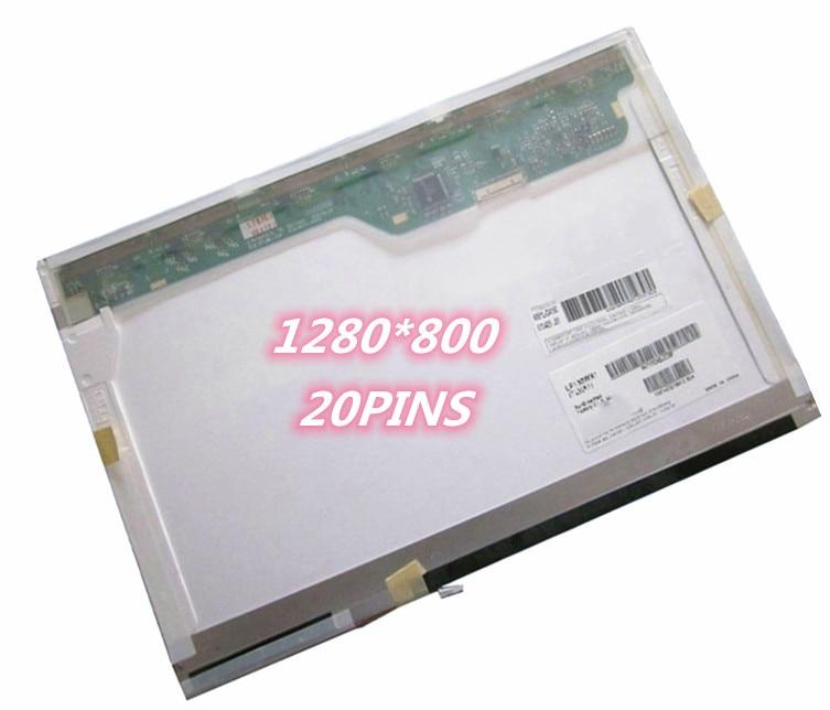 100% Wahr 13,3 ''für Apple Macbook A1181 1280*800 20pin Ltn133at07 Lp133wx1 Tla1 B133ew01 V.3 2006 2007 2008 2009 Ccfl Laptop Lcd Screen Lange Lebensdauer