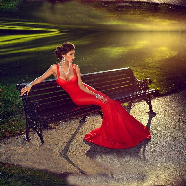 d145b8a508e5 Abiti Da Noite 2015 Migliore Sexy vestiti Lunghi Da Promenade Elegante  Mermaid Abito Da Sera 2015