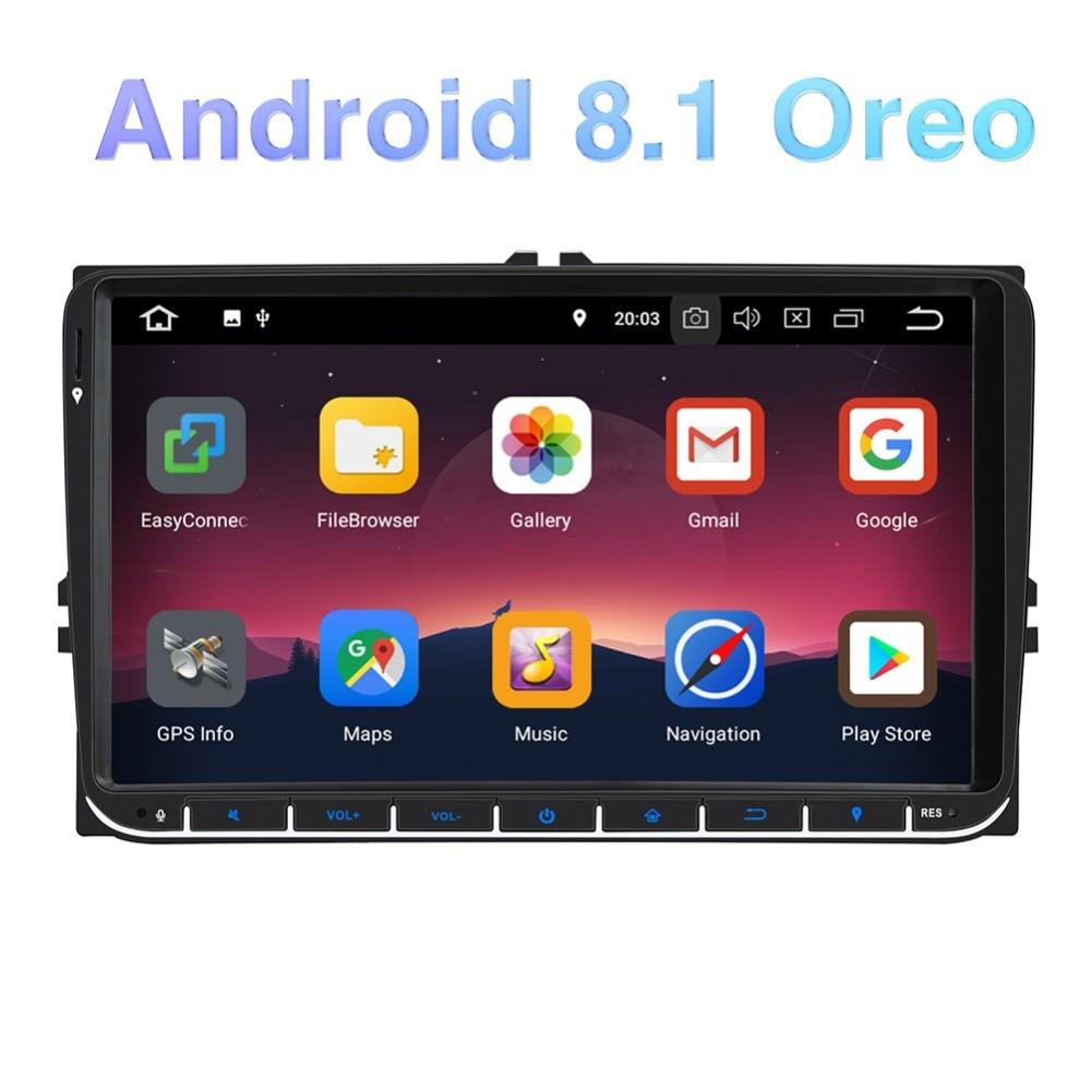 "Pumpkin 7/"" Car Stereo Android 8.0 GPS Raido 2GB+32GB 8 Core Navigation Fastboot"