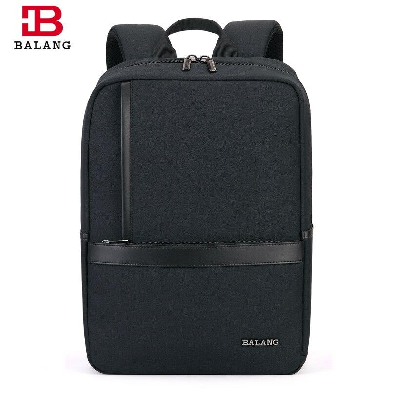 BALANG Waterproof 15.6 inch Laptop Backpack School Bag for Teenagers Men Backpacks Travel Bag Male Bagpack Mochila 2019-in Backpacks from Luggage & Bags    2