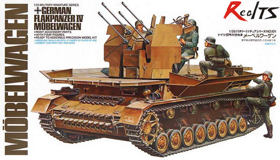 RealTS TAMIYA MODEL 1/35 SCALE military models #35101 Flakpanzer IV Mobelwagen babyonlinedress цвет шампанского сша 10 великобритания 14 ес 40