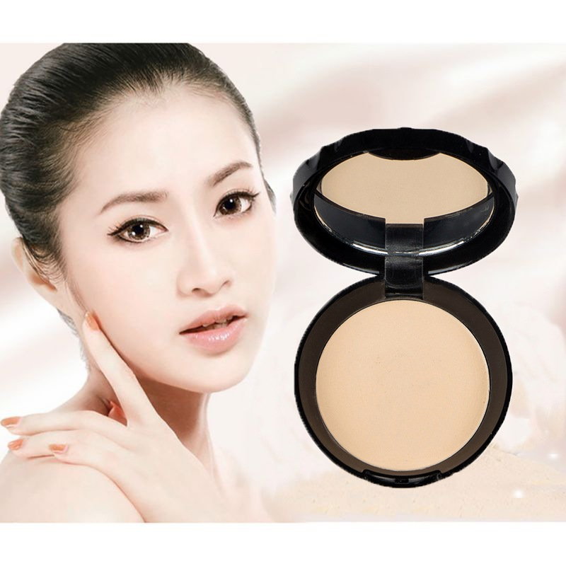 6 Colors Face Makeup Oil Control Concealer Smooth Dry Pressed Powder Bronzers Whitening Finishing Powder Setting Lasting