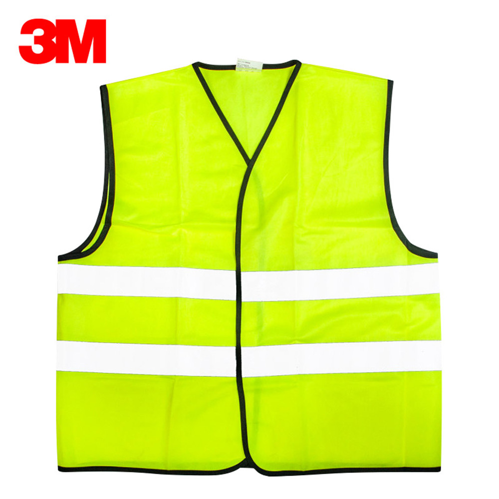 3M V01S0 Reflective Vest Car Annual Inspection Safety Clothing Road Construction Night Traffic Riding Fluorescent Vest reflective vest car traffic construction safety clothing reflective vest vest fluorescent clothes sanitation worker clothes
