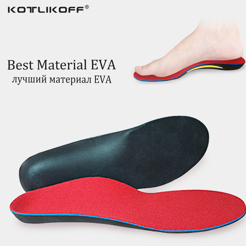 60a34a9a3d KOTLIKOFF Orthopedic Insoles Doctors recommend Best Material EVA Orthotic  Insole Flat Feet Arch Support Orthopedic shoes pad-in Insoles from Shoes on  ...