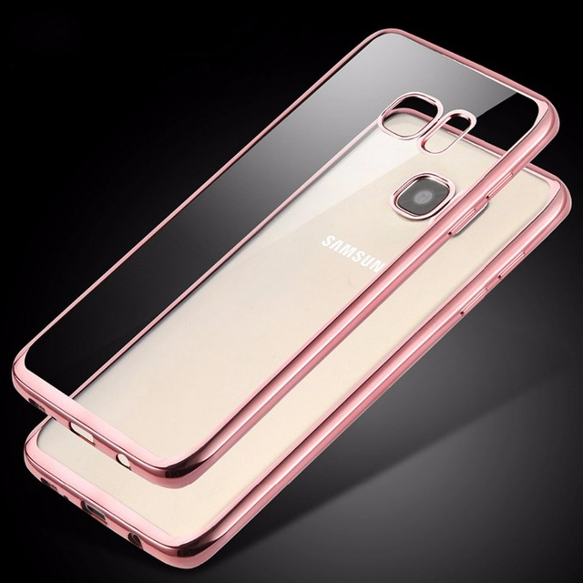 reputable site 65d7e 4faf8 US $1.99 |Silicone Case for Samsung Galaxy S6 Edge Plus S7 edge Note 5  Cases Soft TPU Rubber Crystal Back Clear Cover Luxury Accesorios on ...