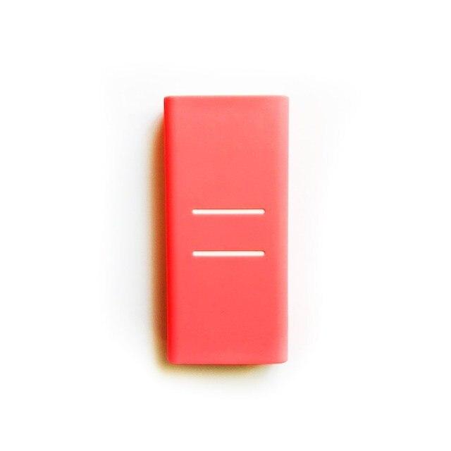 シリコン保護ケース Xiaomi 電源銀行ケース 20000 mah 2C ゴムカバーシェルスキンプロテクタースリーブ電源銀行アクセサリー