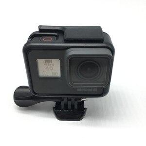 Image 2 - Suptig لملحقات GoPro إطار واقي غلاف كاميرا الفيديو الإسكان لgopro Hero2018 Hero5 6 Hero 7 الأسود عمل الكاميرا