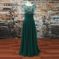 Green Long Evening Dresses With Cap 2017 Fast Shipping O Neck Sheer Crystals Beaded Prom Party Dresses For Women Formal Gowns