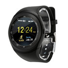 2018 Bluetooth Sport Smart Watch Phone Mate Full Round Screen SIM activity tracker smart akilli saatler For Android For IOS Jun9