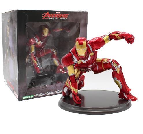 Homem De Ferro Avengers Age De Ultron 1/6 Échelle Pré-Pintado Kit Modelo PVC Figure Toy Collection Modelo 17 cm
