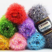 500g Lot Colorful Pearl Color Line Phoenix Feather Coral Velvet Lover Cotton Wool Yarn Baby Cashmere