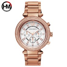Luxury Brand Women Watches Quartz Watch Women Rose Gold Steel Ladies Watch Rhinestone Female Wristwatches reloj mujer Clock xfcs
