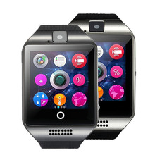 men Q18 Wearable Devices GT08 DZ09 GT88 Smart Watch Electronics Wristwatch For huawei Samsung Phone Android  Health Smartwatch